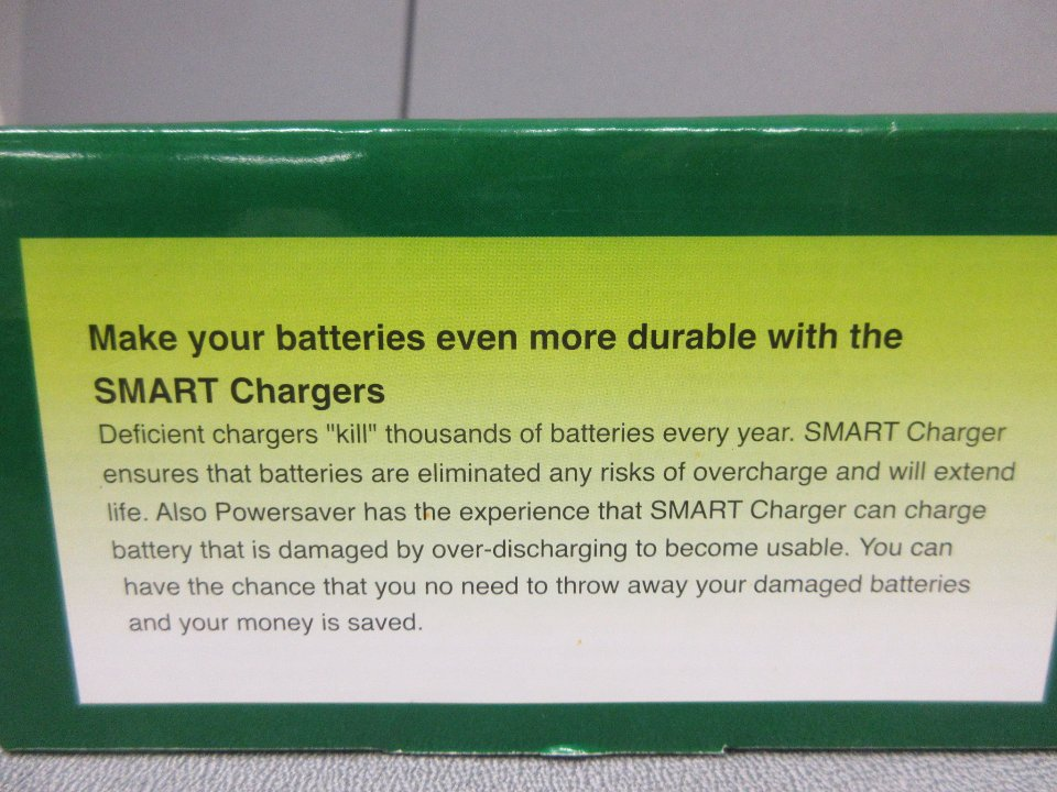 Batteriladdare smart battery charger, 5A