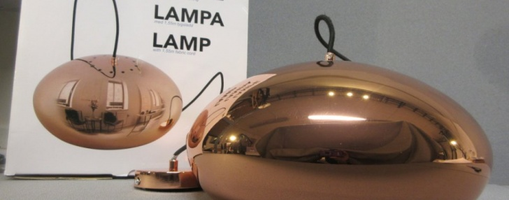 Taklampa Koppar Just Light Lamp