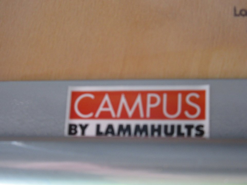 Karmstol stapelbar Campus by Lammhults, 11 st.