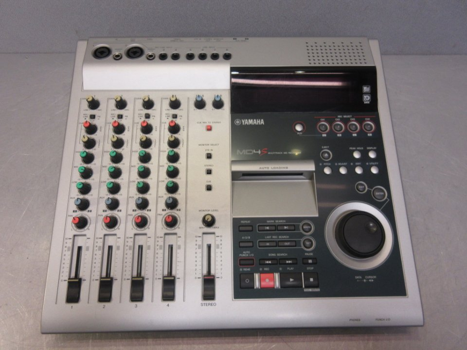 32866 Mixerbord Yamaha MD4S Digital Multitrack Recording System