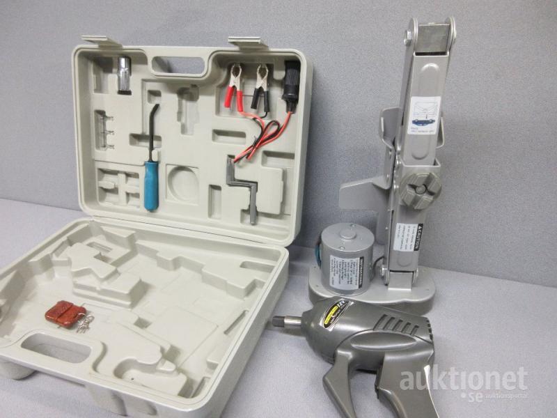 Kanon Elektrisk domkraft med mutterdragare IN-52