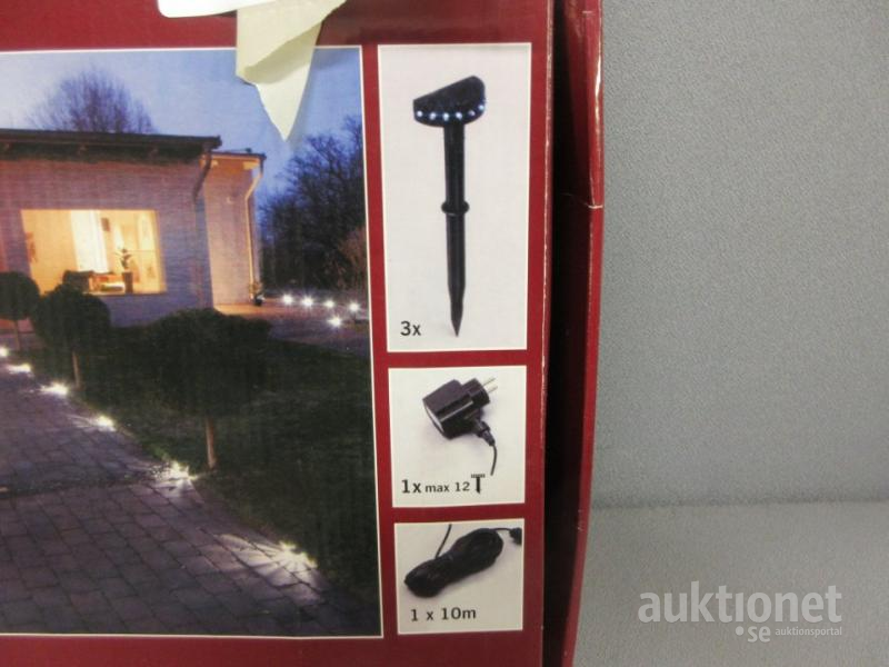 Nykomna Trädgårdsbelysning. LED system. Konstsmide. OG-71