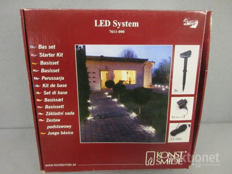 Bra Trädgårdsbelysning. LED system. Konstsmide. MS-27