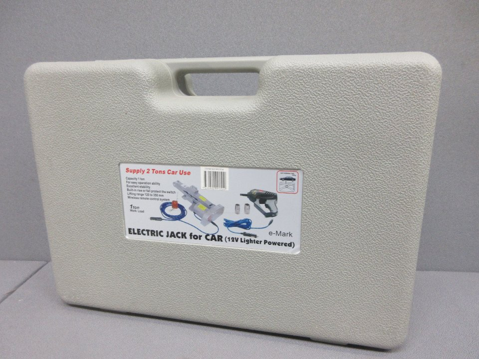 Strålande Elektrisk domkraft med mutterdragare   auktionet TI-83