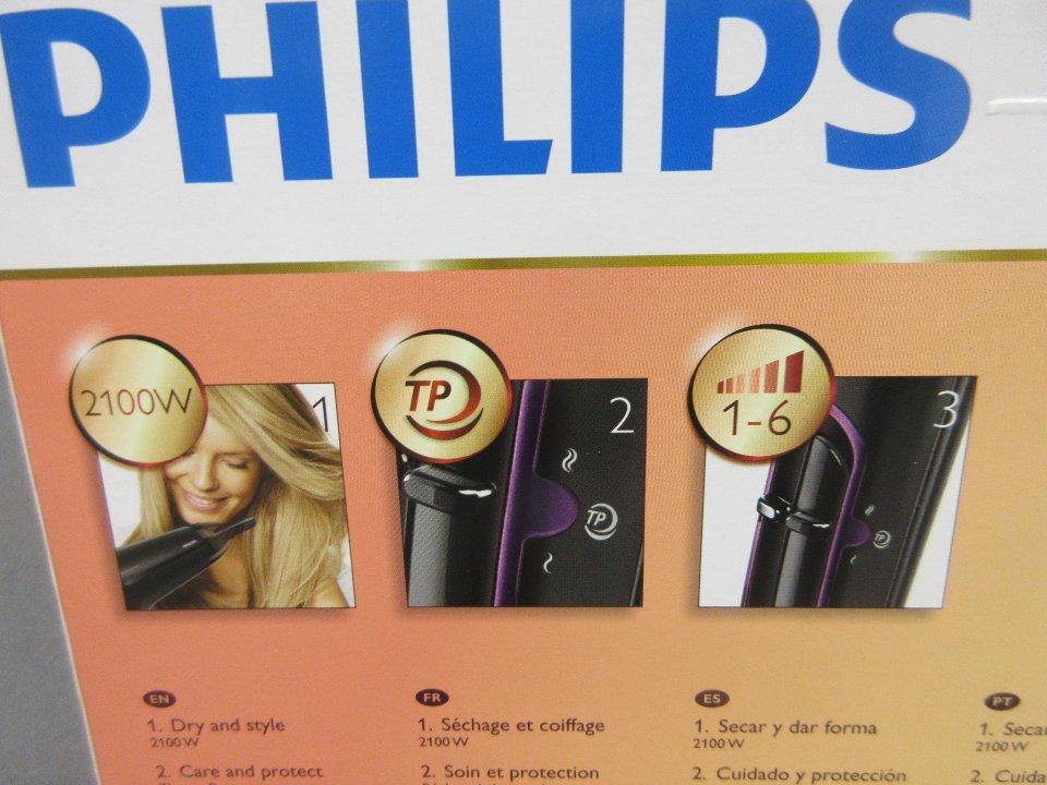 Hårfön Hårtork Philips  5b3d4b7b991ca