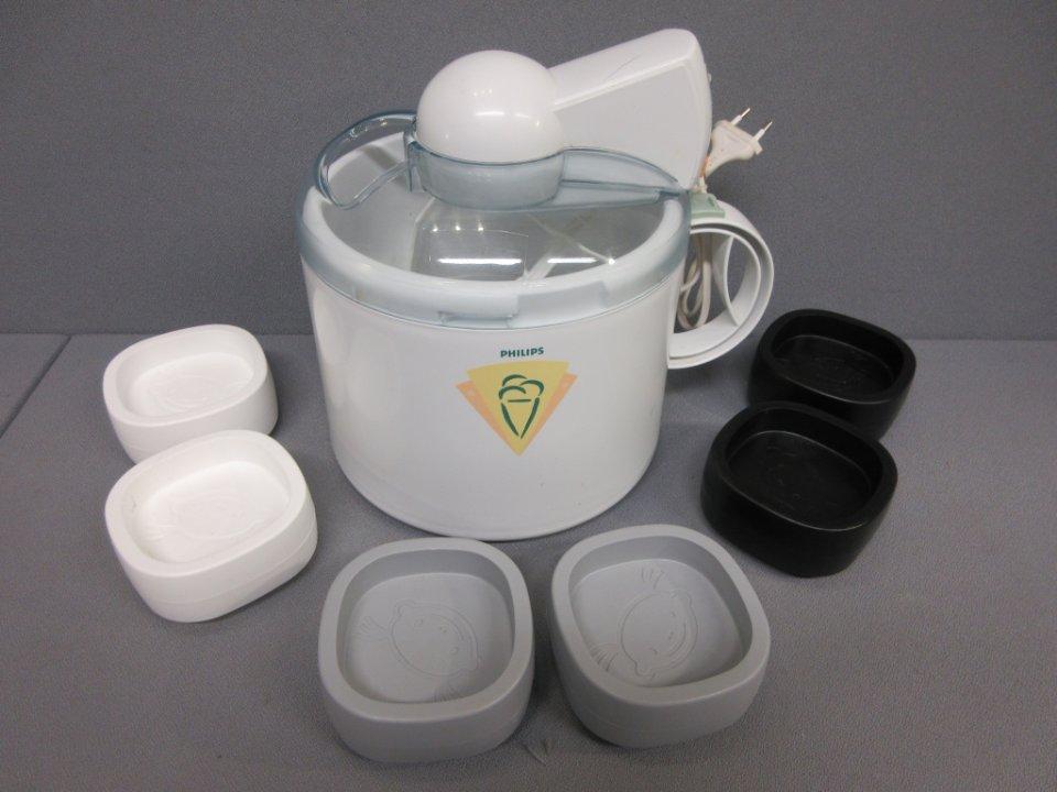 philips glassmaskin frysblock